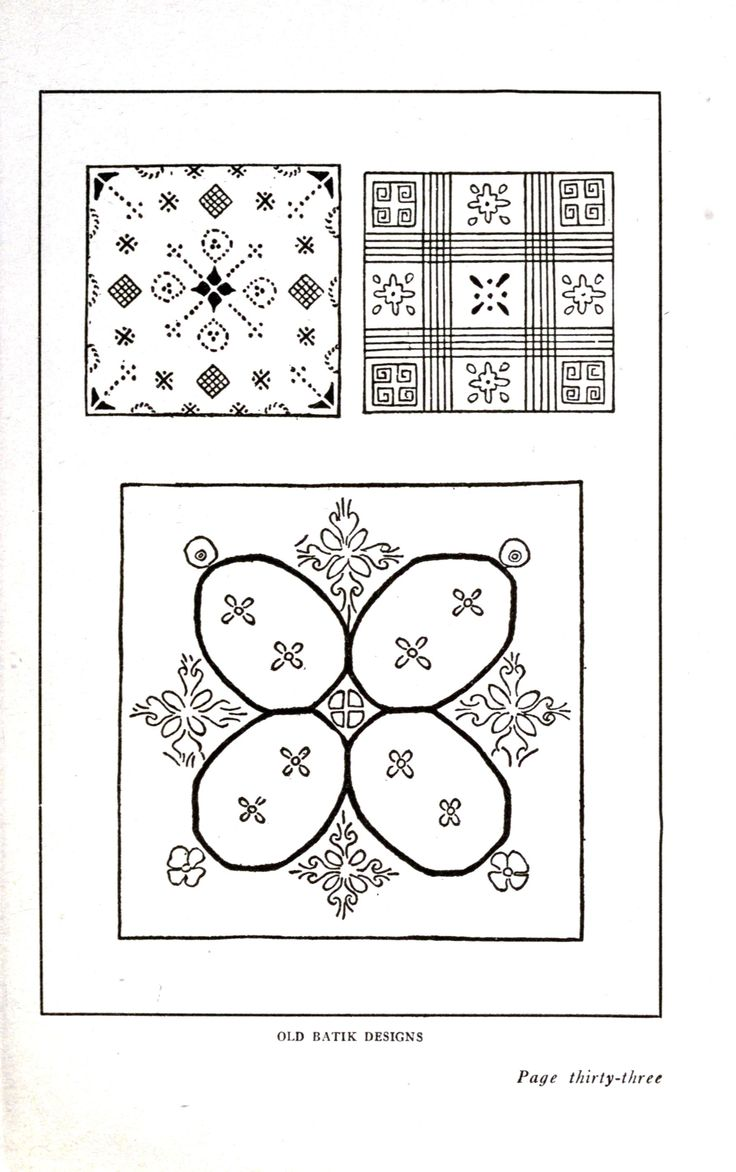 Design - Textile - Batik 11
