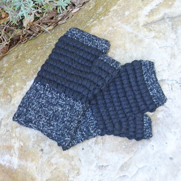 Baby alpaca fingerless gloves hand knit in Peru....soooo soft!