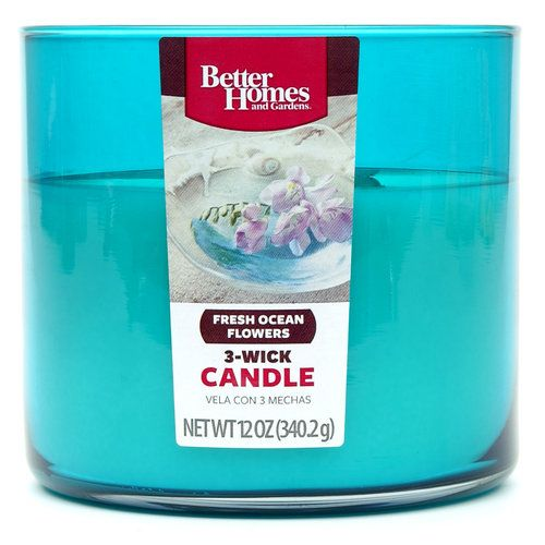Better homes and gardens 12 ounce candle fresh ocean flowers other home work Better homes and gardens diffuser