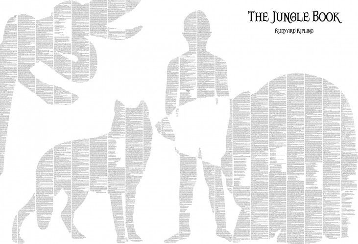 The Jungle Book book poster | Spineless Classics
