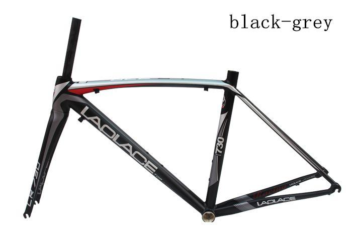 100% Original laplace Bicycle TCR Composite alloy frame Carbon fork Frame Set 700C Road Bike Frame Size 48 50m optional