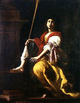 Clio - by Giovanni Baglione 1624