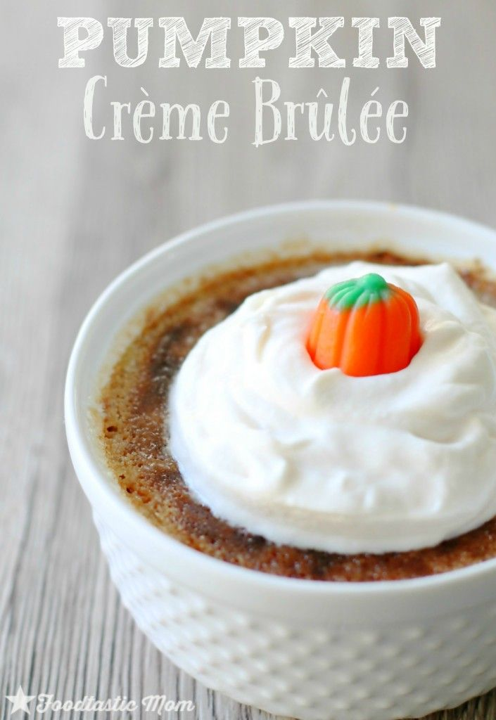 pumpkin and brown sugar creme brulee recipes dishmaps pumpkin creme ...