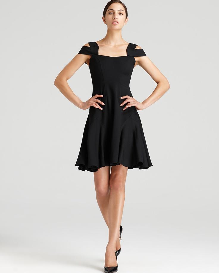 Z Spoke Zac Posen Double Strap Twill Suiting Dress - Women's - Bloomingdale's