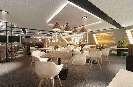 Tallink Megastar Restaurant 3D www.dsign.fi