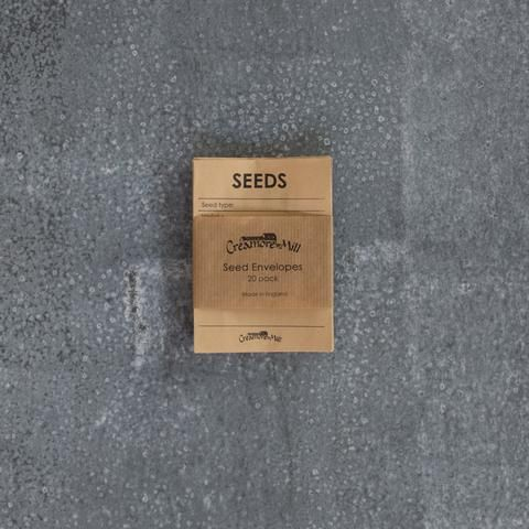 Creamore Mill seed envelopes