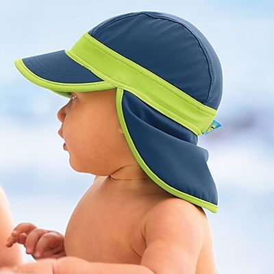 Baby Flap Hat for boys from Sun Smarties | OneStepAhead.com