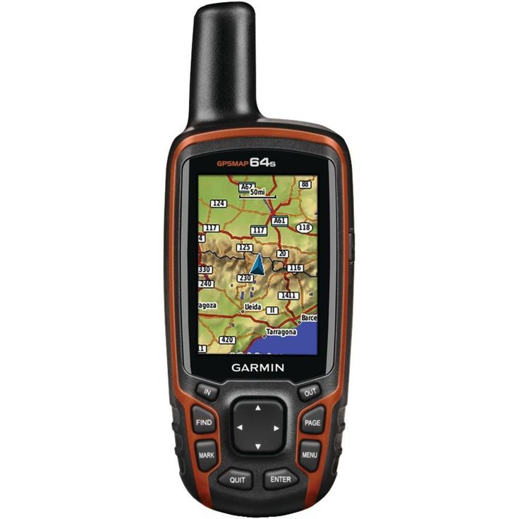 GARMIN 010-01199-10 GPSMAP(R) 64s Worldwide GPS Receiver (BirdsEye Satellite Imagery Subscription, 3-Axis Electronic Compass, Barometric Altimeter & Wireless Connectivity)