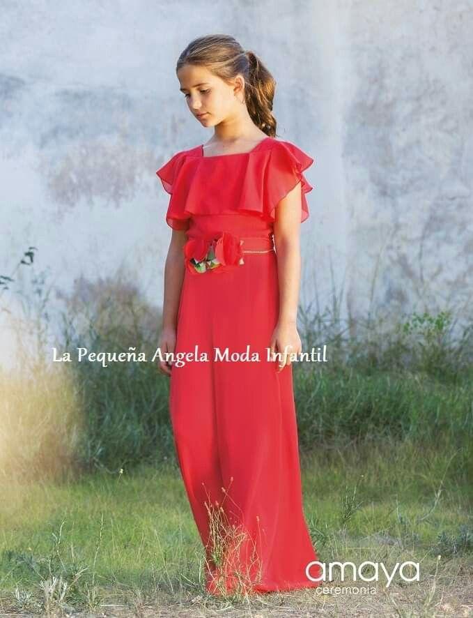 Amaya Fashion For Kids Estilo Infantil Moda Infantil Vestidos Para Niñas