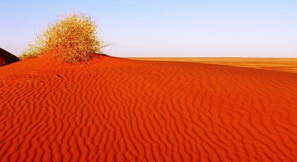 Ανεξήγητα Φαινόμενα...: Μια «εξωγήινη» κόκκινη… έρημος!