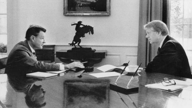 Zbigniew Brzezinski, President Carter's national security advisor, dies at 89.