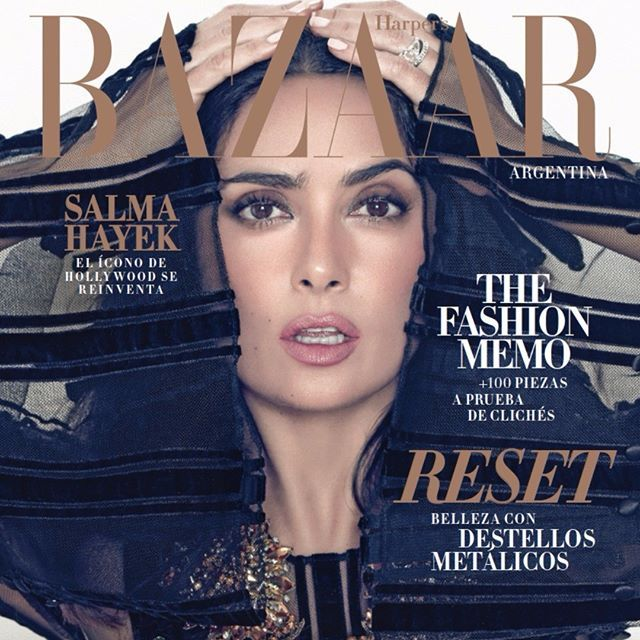 Revista Bazaar Julio #salmahayek #Belleza #Moda #Belleza #Fashion #Lujo  via HARPER'S BAZAAR ARGENTINA MAGAZINE OFFICIAL INSTAGRAM - Fashion Campaigns  Haute Couture  Advertising  Editorial Photography  Magazine Cover Designs  Supermodels  Runway Models