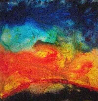 Samantha Hobson, Bushfire, 2002 (University of Queensland Art Museum)