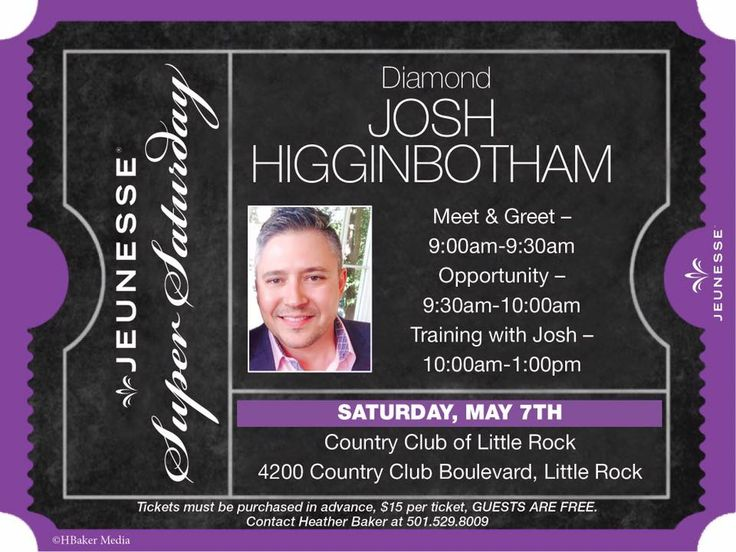 Arkansas MLM Your Invited Meet Josh Higginbotham Jeunesse Diamond Director Jeunesse Billion Dollar The faster growing company in the world Jeunesse Information, Learning and Training