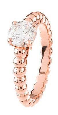 Van Cleef anello oro rosa