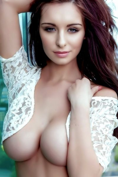 Natural Busty Brunette 20