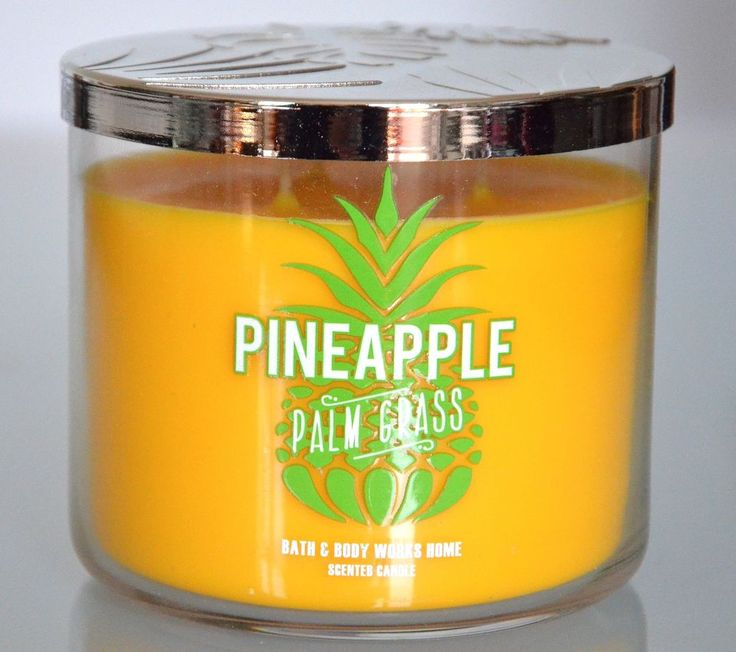 * Pineapple Palm Grass * Grande bougie parfumée Bath and Body Works  Candle