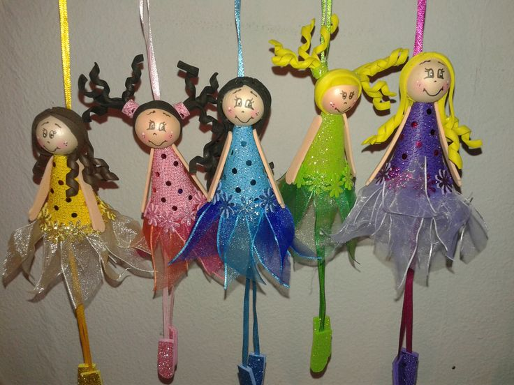 bailarinas colgantes