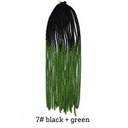 SHARE & Get it FREE | Two-Tone Ombre Stylish Heat Resistant Synthetic Women's Dreadlock Hair ExtensionFor Fashion Lovers only:80,000+ Items • New Arrivals Daily • Affordable Casual to Chic for Every Occasion Join Sammydress: Get YOUR $50 NOW!