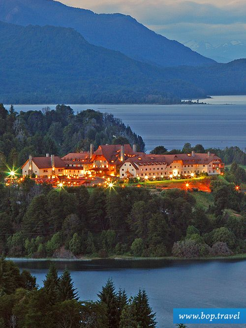 Llao Llao Hotel & Resort, Golf - Spa Patagonia, Bariloche Argentina. www.bop.travel