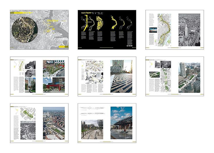 CAROL R JOHNSON, MACHADO AND SILVETTI, EDAW, COPLEY WOLFF DESIGN GROUP, CROSBY SCHLESSINGER SMALLRIDGE, GUSTAFSON GUTHRIE NICHOL. Boston Central Artery. USA 2007 #infrastructures #landscape #infraestructuras #paisaje  Published in The Public Chance http://aplust.net/tienda/libros/Serie%20In%20Common/THE%20PUBLIC%20CHANCE/#project-666