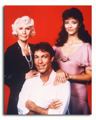 Barbara Stanwyck, Rachel Ward, & Richard Chamberlain in The Thorn Birds (1983)