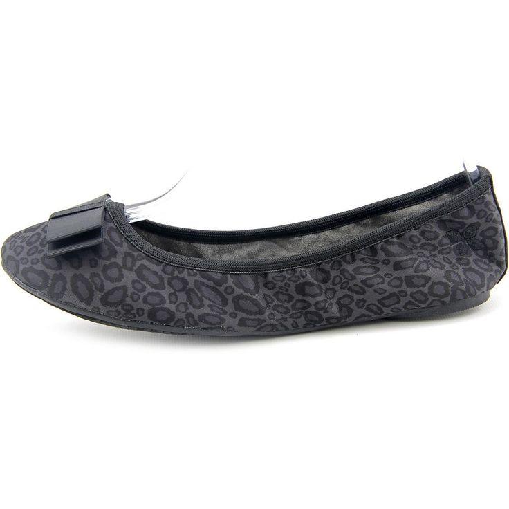 "Butterfly Twists Naomi Grey Slate Leopard Print Women's Flat Ballet Shoes (10 B(M) US). The style name is Naomi. The style number is BFT-NAOMI/GRY. Brand Color: Grey Leopard (Main Color: Black). Material: Canvas. Measurements: 0.25"" heel. Width: B(M)."
