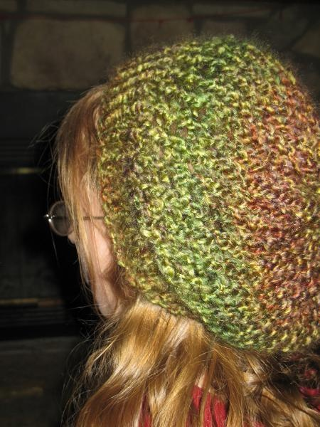 Loom Knit Slouch Hat @sparklers