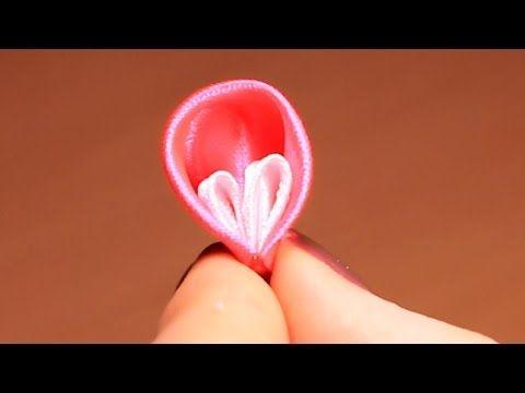 Kanzashi Petals / Video tutorial / DIY