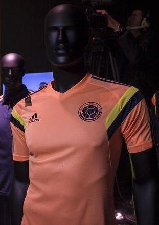 2da camiseta de entrenamiento Selección Colombia 2014