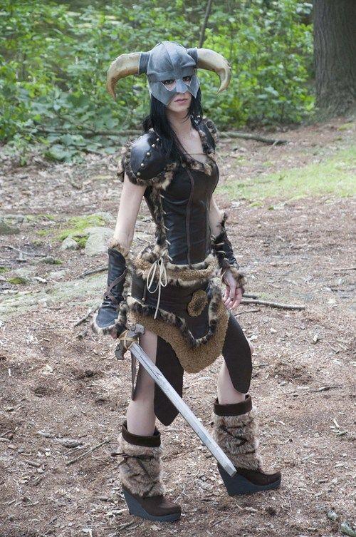Dovahkiin Skyrim costume