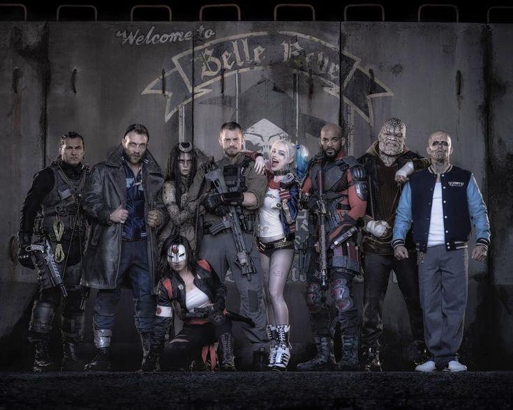 Suicide Squad movie Full Cast Photo! - Geek Prime