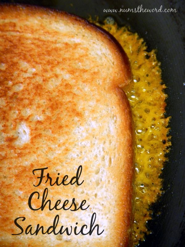 This new twist on the old grilled cheese might have you running as far away as possible, but if you love the crispy bits of cheese on your sandwiches, then you'll LOVE this sandwich!