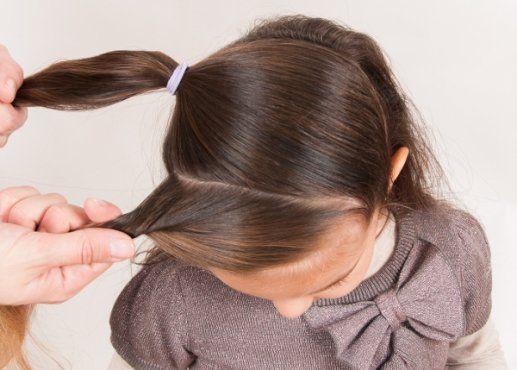 peinado de fiesta para tu nia paso a paso fotos