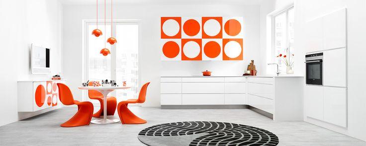 verner panton | Cozinhas | Design nórdico em padrões geométricos ~ Ás nove em ...