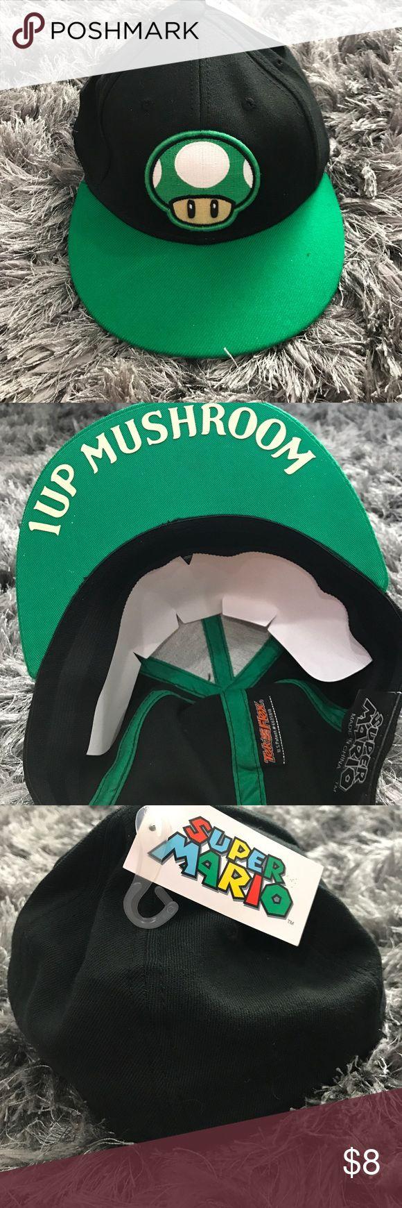 🔥New🔥 Adult Super Mario Mushroom Flex Hat NWT
