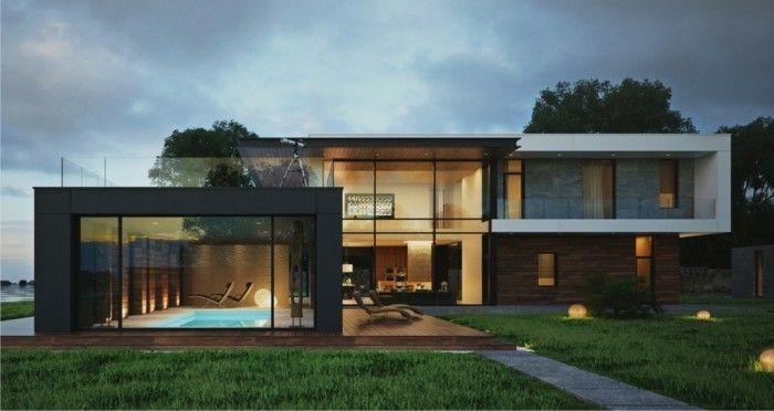 maison claire - villa contemporaine - étanchéité toit plat