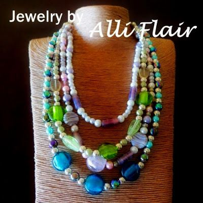 "Every original mixed-matched jewelry set by Alli Flair is designed to add ""A Touch of Flair"" to your outfit and brighten your day. All Alli Flair jewelry sets include free shipping worldwide with tracking number."