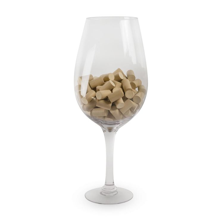 If you love wine, or know someone who does, the Big Bordeaux Giant Wine Glass & Cork Holder is a must-have. We know you just want to use it as a gulping vessel for your favorite pinot grigio. But it's also useful as a business card collector, cork collection display, party punch bowl, ice bucket, and so much more.