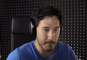 I (Markiplier) am sitting in my studio. Recording some Happy Wheels when I hear a knock on the door.