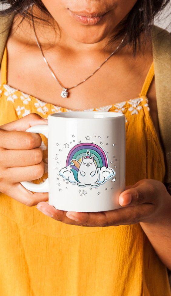 a9f33f44bc Cute Fashion Patch Coffee Mug