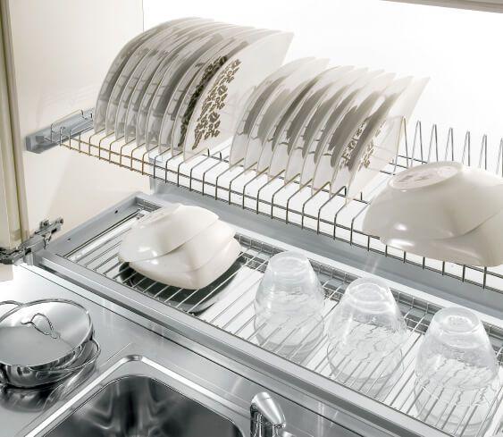 стеллажи для сушки посуды из нержавейки