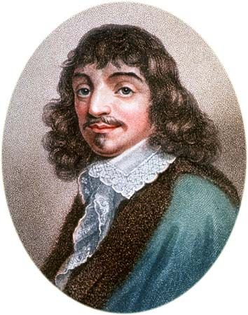 """Latin """"I think, therefore I am dictum coined by the French philosopher René Descartes in his Discourse on Method (1637) as a first step in demonstrating the attainability of certain..."""