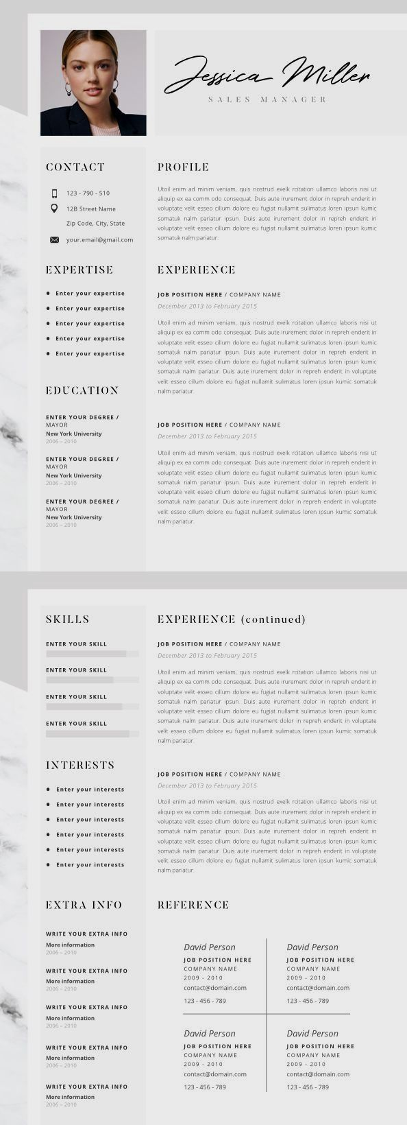Pin By Nicolette Tetrault On Resume Design Template Resume Design Creative Resume Design Resume Layout