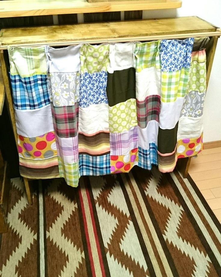 オープンラックにカーテンをつける方法いろいろ。|LIMIA (リミア) カーテンレールを取り付ける