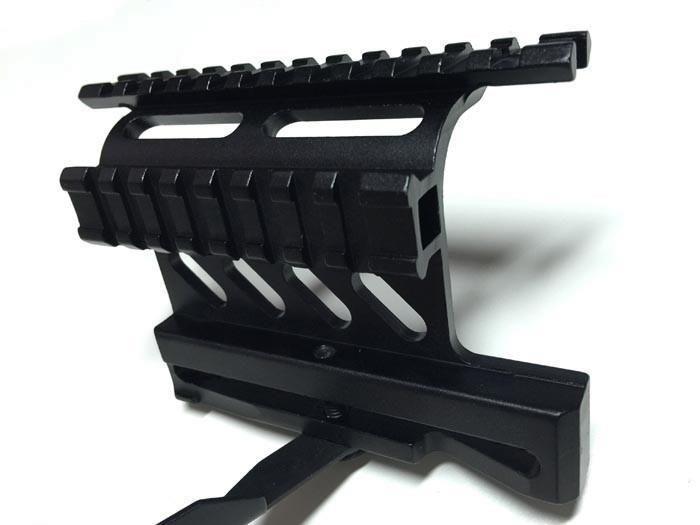 Tactical AK Serie Rail Side Mount Quick QD Style 20mm Detach Weaver