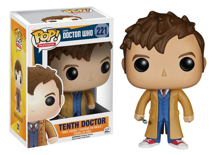 Pop! TV: Doctor Who - Tenth Doctor   Funko