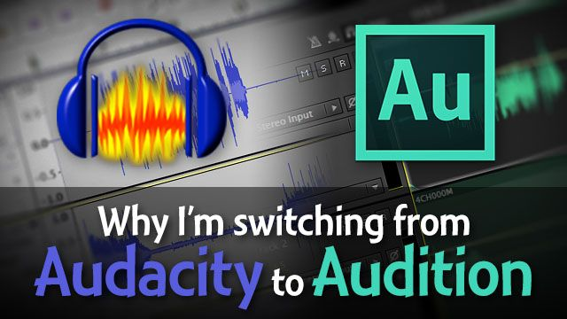 Audacity is free and Adobe Audition is $349. Are there really benefits to Audition that are worth the big price tag? I share why Audition may be best for my podcasting workflow, but why you probably shouldn't switch.