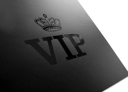 VIP folder-spot UV