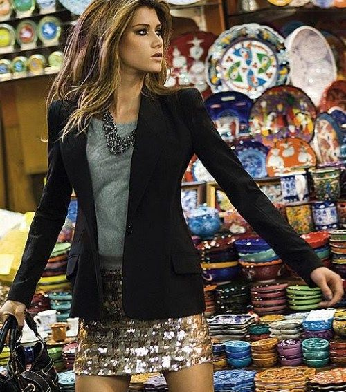 """I'm always looking for a great """"going out"""" outfit that doesn't make me look like I'm going clubbing. Love this."""